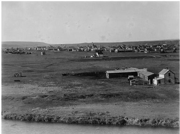 Calgary, Alberta, 1885, HBC Trading Post